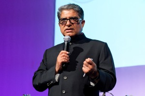 NEW YORK, NY - JULY 18:  Deepak Chopra attends The Chopra Well Launch Event at Espace on July 18, 2012 in New York City.  (Photo by D Dipasupil/WireImage)